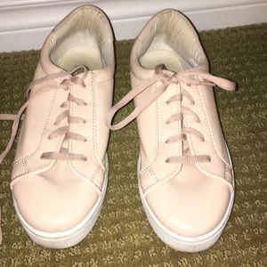 light pink top shop shoes